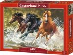 Puzzle 500 Castorland B-52585 Konie - Splash