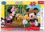 Puzzle Ramkowe 15 Trefl 31131 Myszka Miki - Characters