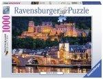 Puzzle 1000 Ravensburger 196210 Wieczór w Heidelberg