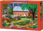 Puzzle 1500 Castorland C-151523 Ogród - Domek