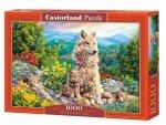 Puzzle 1000 Castorland C-104420 Rodzina Wilków