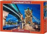 Puzzle 2000 Castorland C-200597 Most Tower Bridge - Londyn