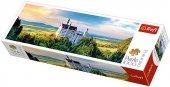 WYPRZEDAŻ: Puzzle 1000 Trefl 29028 Panorama Zamek Neuschwanstein