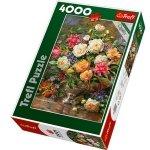 Puzzle 4000 Trefl 45003 Kwiaty dla Królowej Elżbiety