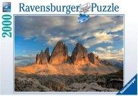 Puzzle 2000 Ravensburger 166770 Trzy Szczyty - Tavaredo
