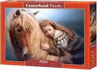 Puzzle 500 Castorland B-52899 Koń i Najlepsza Przyjaciółka