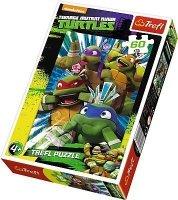 Puzzle 60 Trefl 17292 Wojownicze Zółwie Ninja