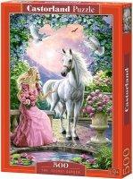 Puzzle 500 Castorland B-52127 Jednorożec - Tajemniczy Ogród