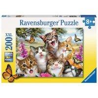Puzzle 200 Ravensburger 126200 Portret Kotów