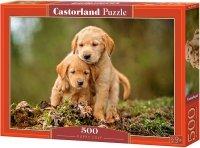 Puzzle 500 Castorland B-52271 Psy - Szczenięca Miłość