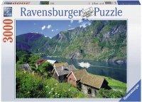 Puzzle 3000 Ravensburger 170630 Norwegia - Sognefjord