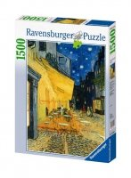 Puzzle 1500 Ravensburger 162093 Van Gogh Kawiarenka