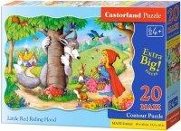 Puzzle 20 Maxi Castorland C-02337 Czerwony Kapturek