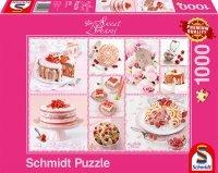 Puzzle 1000 Schmidt 59576 Sweet Dreams - Różowy
