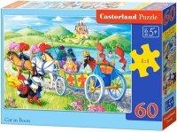 Puzzle 60 Castorland B-066070 Kot w Butach