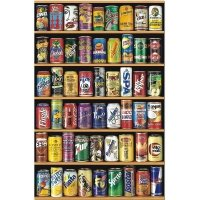 Puzzle 1000 Educa 14835 Puszki - Cans Miniature - Miniatura