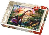 Puzzle 100 Trefl T-16277 Świat Dinozaurów
