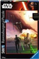 Puzzle 500 Ravensburger 146673 Star Wars - Ciemna Strona Mocy