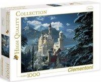 Puzzle 1000 Clementoni 31390 Neuschwanstein Castle Winter