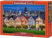 Puzzle 1000 Castorland C-103751 San Francisco - Painted Ladies