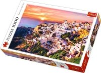 Puzzle 1000 Trefl 10435 Zachód Słońca nad Santorini