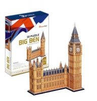Puzzle 3D CubicFun 117 Big Ben - MC087h