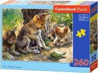 Puzzle 260 Castorland B-27385 Młode Wilki