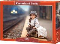 Puzzle 500 Castorland B-52295 Mała Podróżniczka