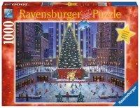Puzzle 1000 Ravensburger 195633 Nowojorska Choinka