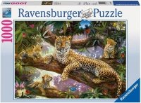 Puzzle 1000 Ravensburger 191482 Leopard - Dumna Matka
