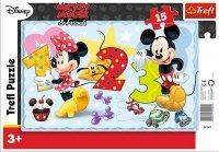 Puzzle Ramkowe 15 Trefl 31241 Myszka Miki