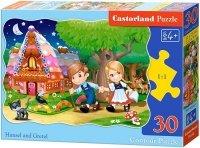 Puzzle 30 Castorland B-03532 Jaś i Małgosia