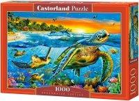 Puzzle 1000 Castorland C-103652 Żółwie