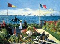 Puzzle 300 Ravensburger 140206 Monet - Ogród w Sainte Adresse