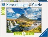 Puzzle 1000 Ravensburger 195398 Widok na KirkJufell
