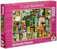 Puzzle 1000 Schmidt 59401 Colin Thompson - Spostrzeżenia