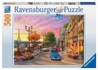 Puzzle 500 Ravensburger 145058 Paryż o Zachodzie Słońca