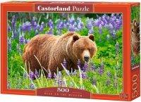 Puzzle 500 Castorland B-52677 Niedźwiedź