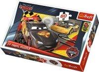 Puzzle 60 Trefl 17284 Cars - Auta - Wyścig do Mety