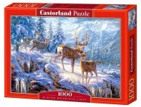 Puzzle 1000 Castorland C-102501 Winter Mountain Light