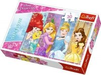 Puzzle 30 Trefl 18205 Bajkowe Księżniczki