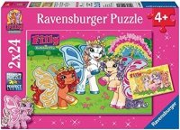Puzzle 2x24 Ravensburger 090891 Świat Filly 2w1