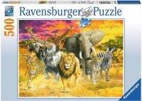 Puzzle 500 Ravensburger 147243 Zwierzęta Afrykańskie