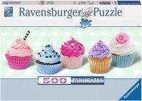 Puzzle 500 Ravensburger 148035 Słodkie Babeczki - Panorama