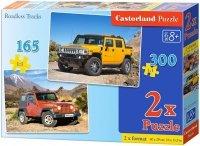 Puzzle 165, 300 - Castorland - B-021086 Pojazdy Terenowe 2w1