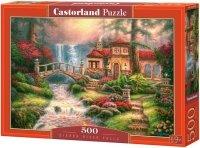 Puzzle 500 Castorland B-52202 Domek - Sierra River Falls