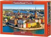 Puzzle 500 Castorland B-52790 Stare Miasto w Sztokholmie - Szwecja