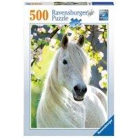 Puzzle 500 Ravensburger 147267 Biały Koń