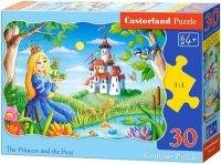 Puzzle 30 Castorland B-03679 Księżniczka i Żaba