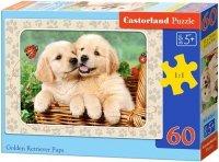 Puzzle 60 Castorland B-06786 Dwa Pieski